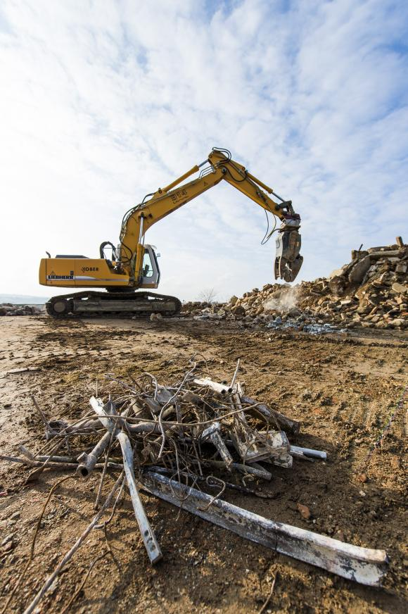 Recycling von mineralischem Bauschutt